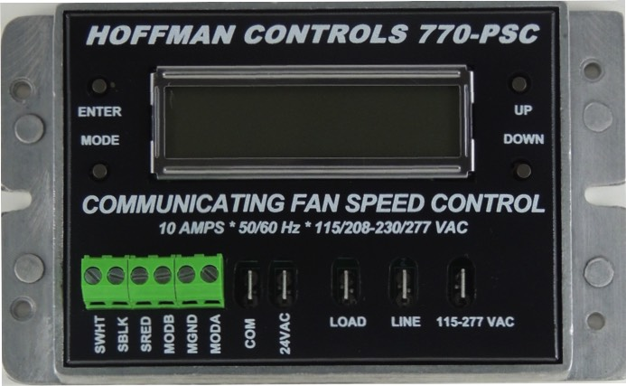 770-PSC Fan Speed Control